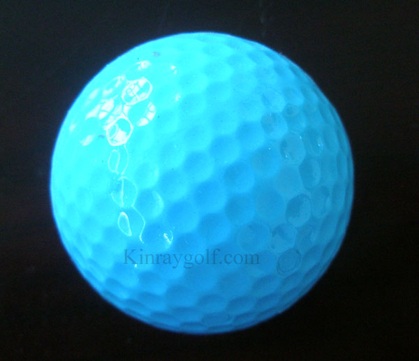 Golf ball -Light blue