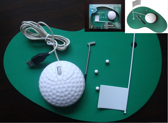 3D golf Mouse Pad