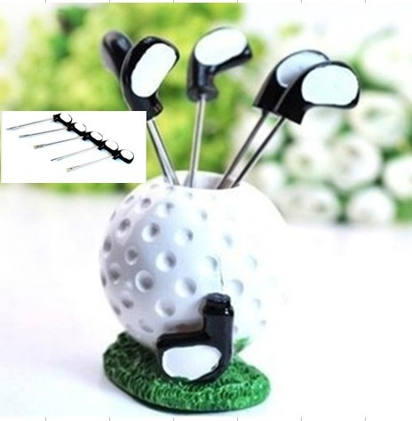 Golf fruit fork