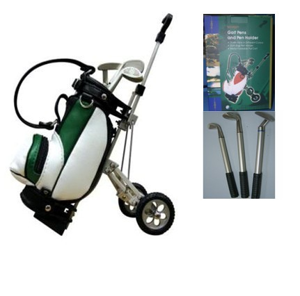 Golf Trolley pen holder