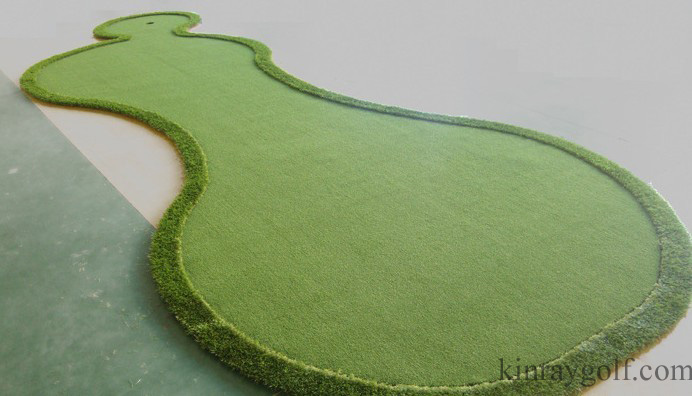 Portable golf putting green(2)