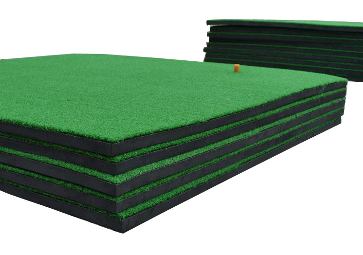 Golf hitting mat