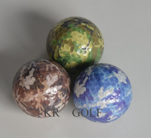 New Camo Golf  ball
