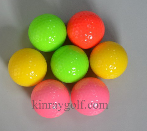 golf fluorescence color ball
