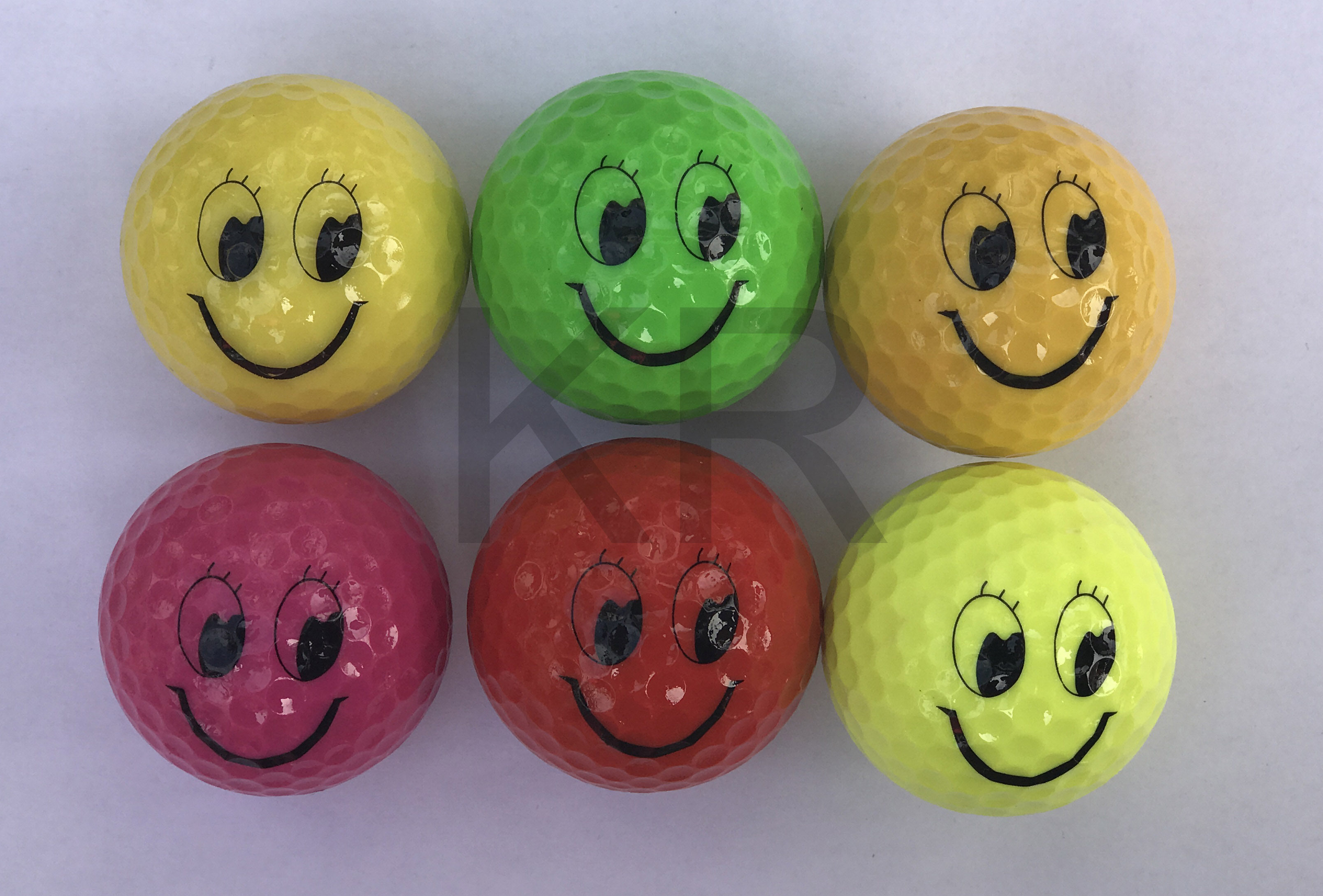 Smile Face Golf ball